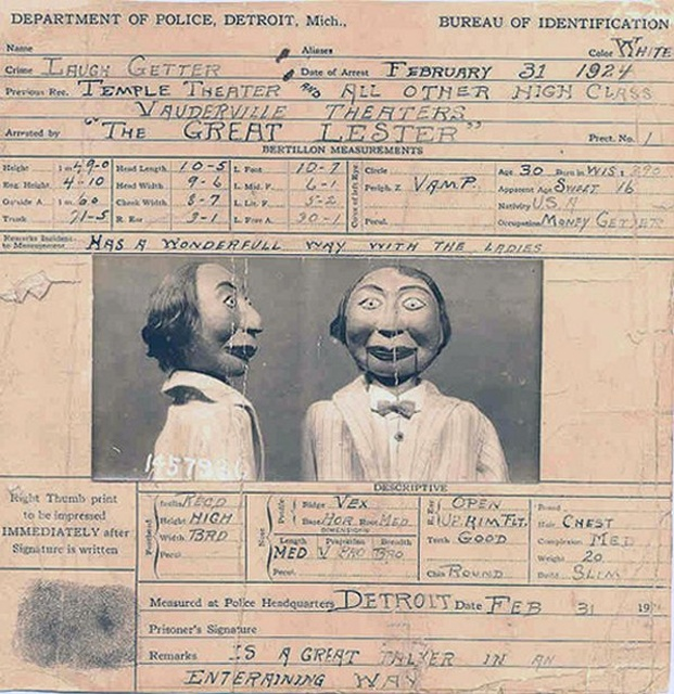昔の腹話術人形の画像(16枚目)