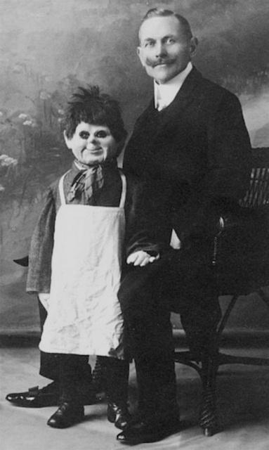 昔の腹話術人形の画像(22枚目)