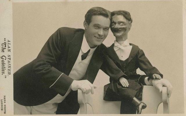 昔の腹話術人形の画像(24枚目)