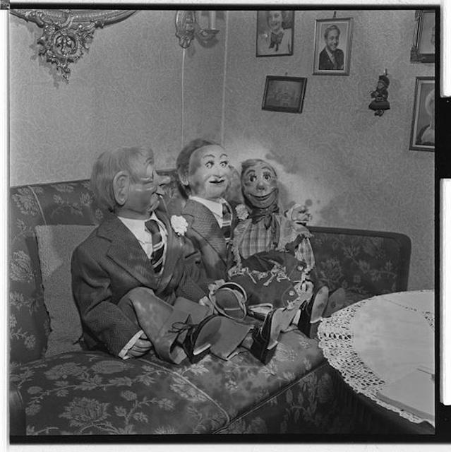 昔の腹話術人形の画像(27枚目)