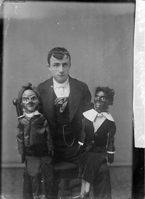 昔の腹話術人形の画像(30枚目)