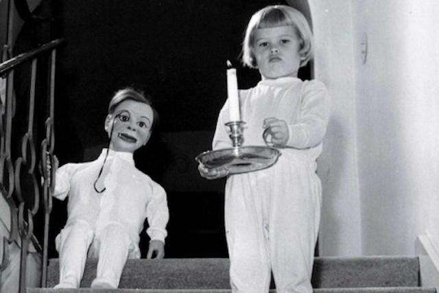 昔の腹話術人形の画像(8枚目)