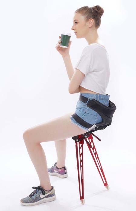 持たずにどこでも運べる椅子の画像(3枚目)