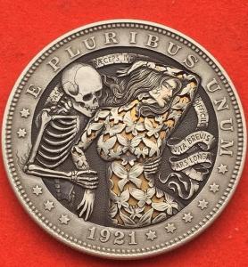 精巧すぎるコインの彫刻08