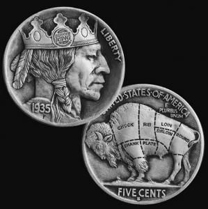 精巧すぎるコインの彫刻11