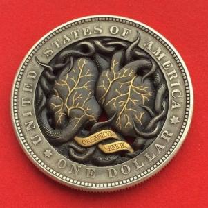 精巧すぎるコインの彫刻12