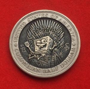 精巧すぎるコインの彫刻14