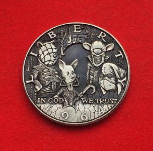 精巧すぎるコインの彫刻15