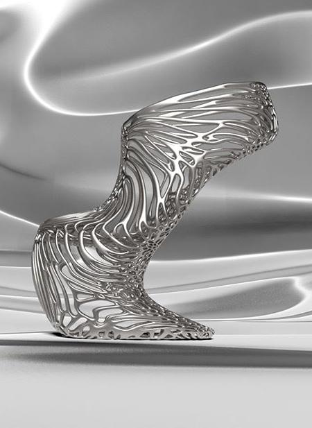 3Dプリンターで作られたハイヒールの画像(5枚目)