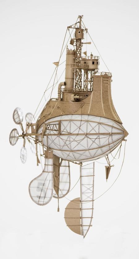 スチームパンクな飛行船の画像(5枚目)