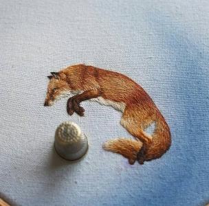 動物のように見える刺繍03