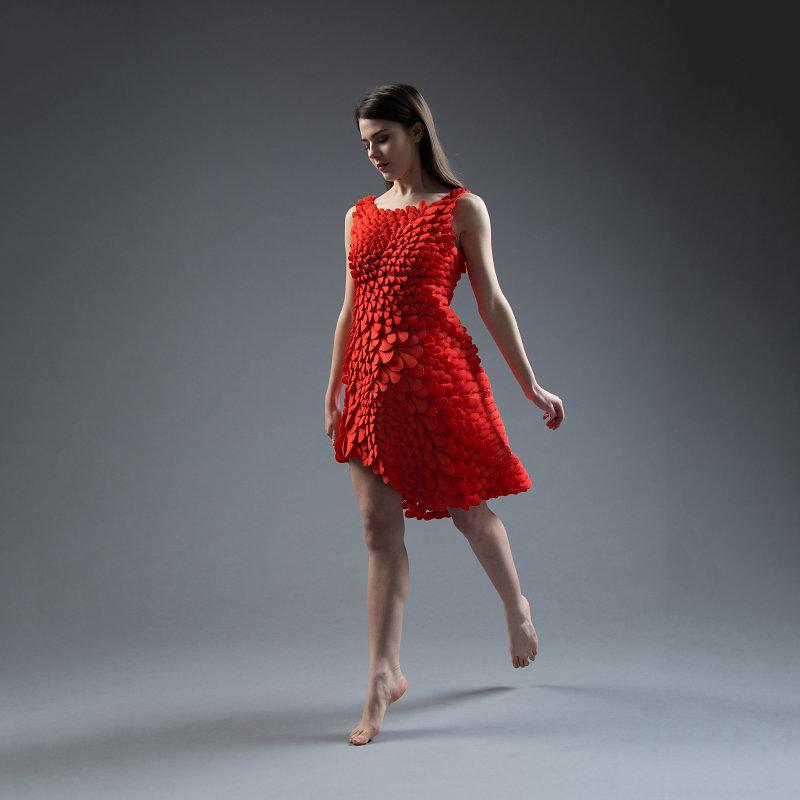 1600以上のパーツ使用の!3Dプリンタのドレスが凄い!!