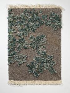 生い茂る森林を再現した絨毯03