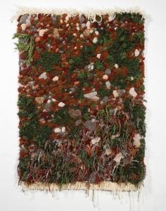 生い茂る森林を再現した絨毯05