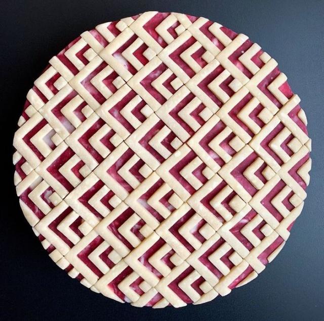 美しい色彩とパターンのケーキの画像(12枚目)