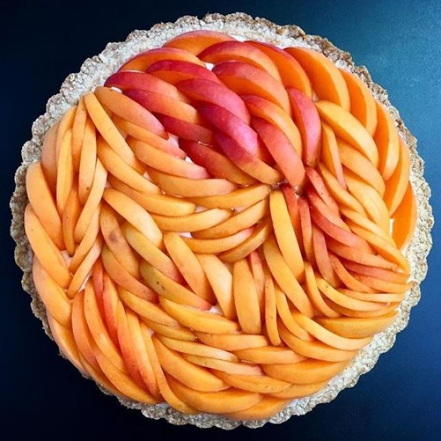 美しい色彩とパターンのケーキの画像(13枚目)