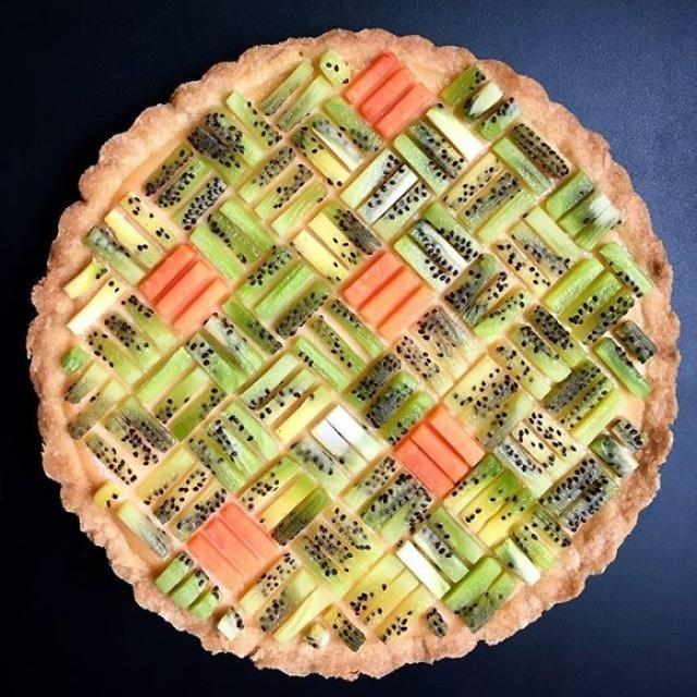 美しい色彩とパターンのケーキの画像(17枚目)