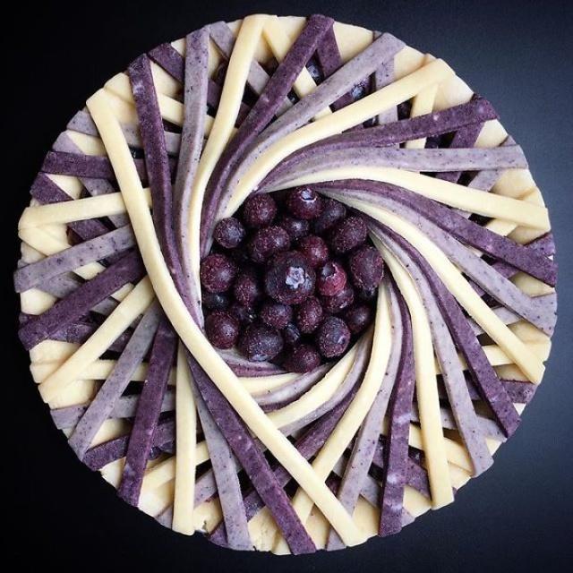 美しい色彩とパターンのケーキの画像(18枚目)