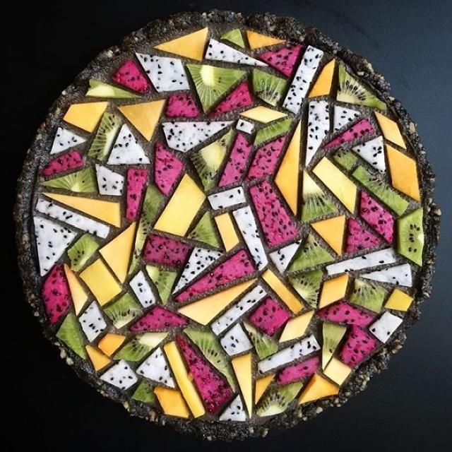 美しい色彩とパターンのケーキの画像(20枚目)