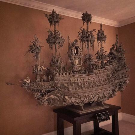 幽霊過ぎるオバケの海賊船の画像(1枚目)