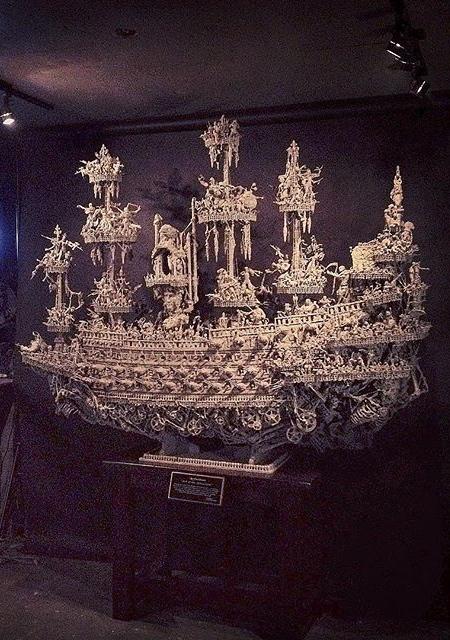 幽霊過ぎるオバケの海賊船の画像(4枚目)