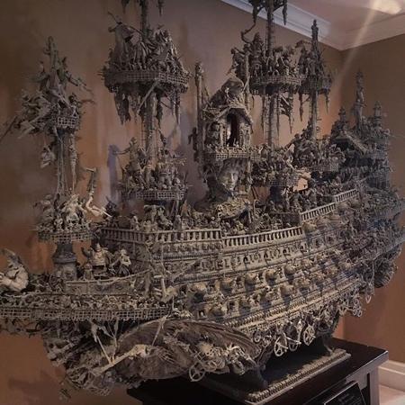 幽霊過ぎるオバケの海賊船の画像(5枚目)