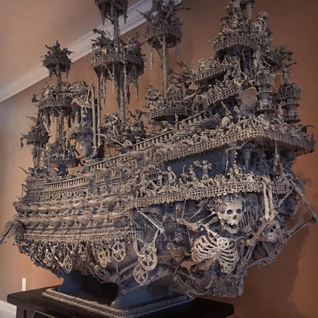 幽霊船よりも幽霊過ぎる!オバケの海賊船が凄い!!