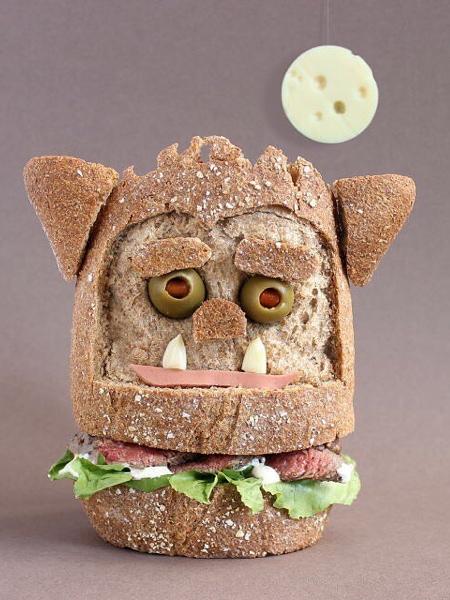 サンドイッチで作ったモンスターの画像(10枚目)
