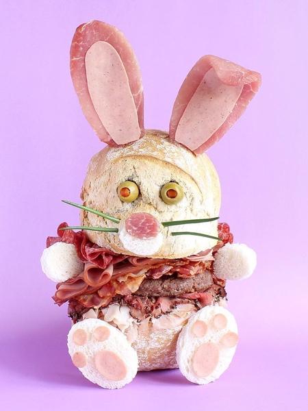 サンドイッチで作ったモンスターの画像(11枚目)