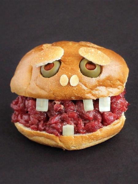 サンドイッチで作ったモンスターの画像(12枚目)