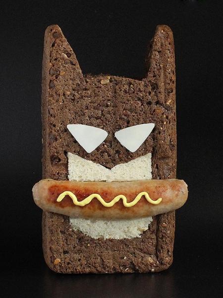 サンドイッチで作ったモンスターの画像(2枚目)