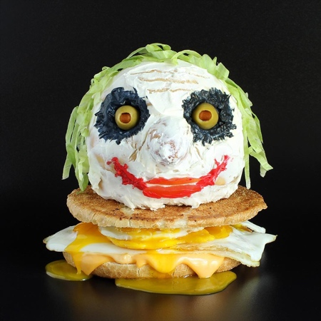 サンドイッチで作ったモンスターの画像(4枚目)