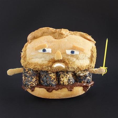 サンドイッチで作ったモンスターの画像(5枚目)