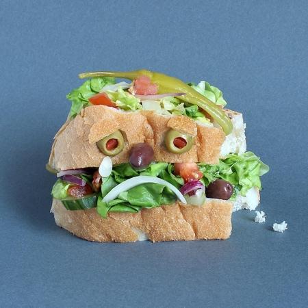 サンドイッチで作ったモンスターの画像(6枚目)