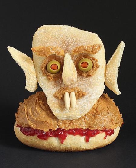 サンドイッチで作ったモンスターの画像(7枚目)