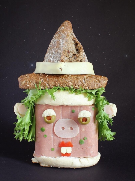 サンドイッチで作ったモンスターの画像(8枚目)
