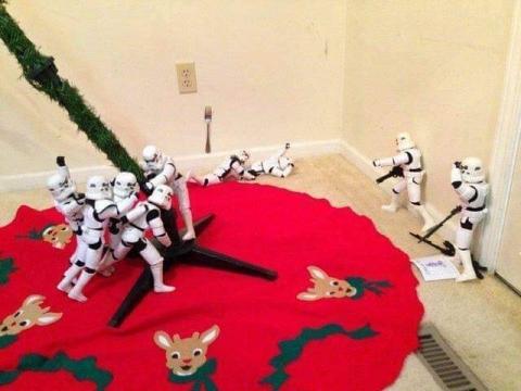 ストームトルーパーがクリスマスの準備10