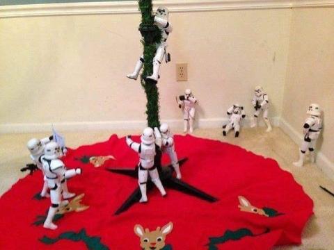 ストームトルーパーがクリスマスの準備11