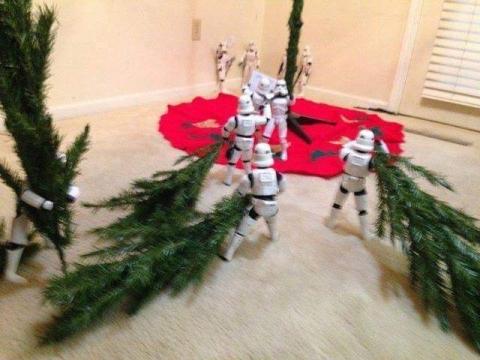 ストームトルーパーがクリスマスの準備12