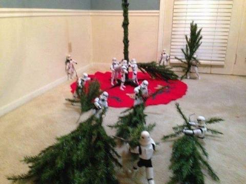 ストームトルーパーがクリスマスの準備14