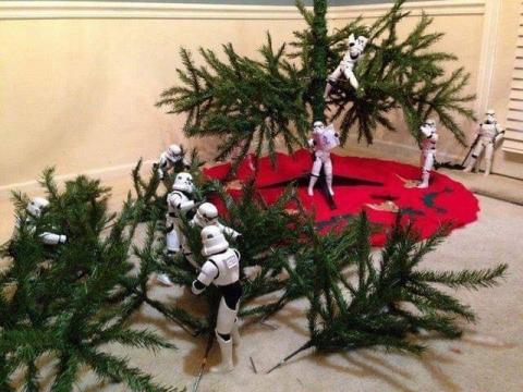 ストームトルーパーがクリスマスの準備17