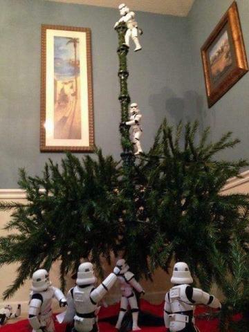 ストームトルーパーがクリスマスの準備18