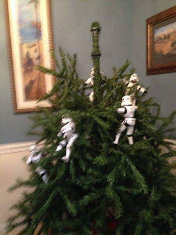 ストームトルーパーがクリスマスの準備19