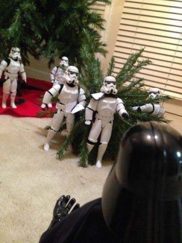 ストームトルーパーがクリスマスの準備21