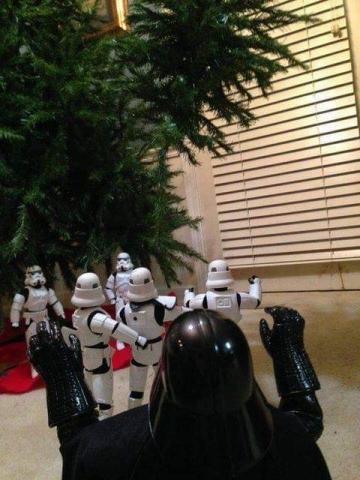 ストームトルーパーがクリスマスの準備22