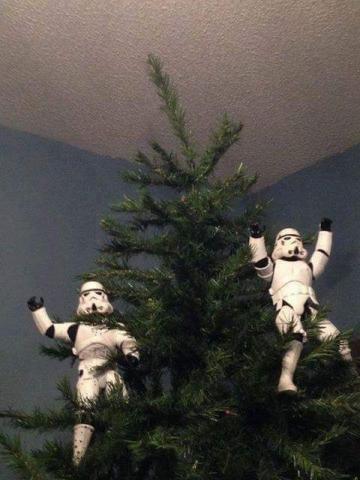 ストームトルーパーがクリスマスの準備24