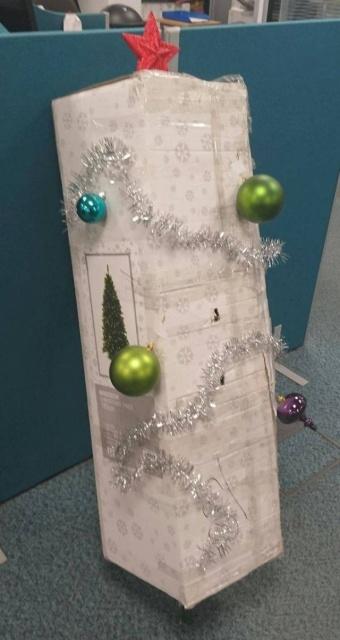 色々なクリスマスツリーの画像(10枚目)