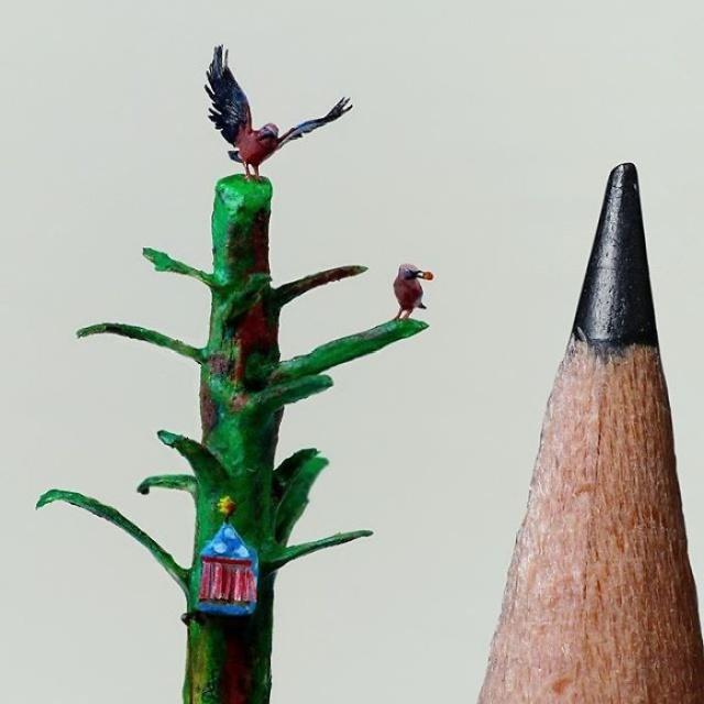 小さ過ぎる鳥の彫刻の画像(13枚目)