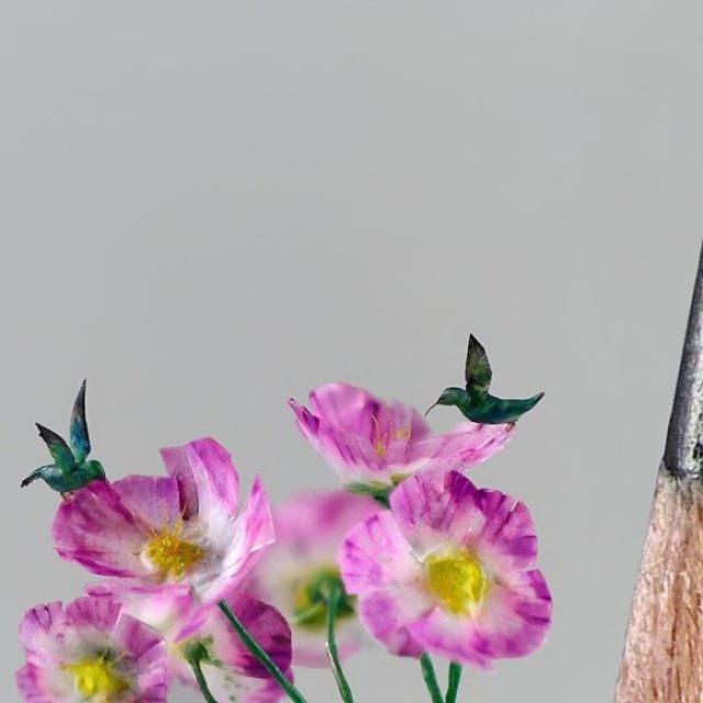 小さ過ぎる鳥の彫刻の画像(15枚目)