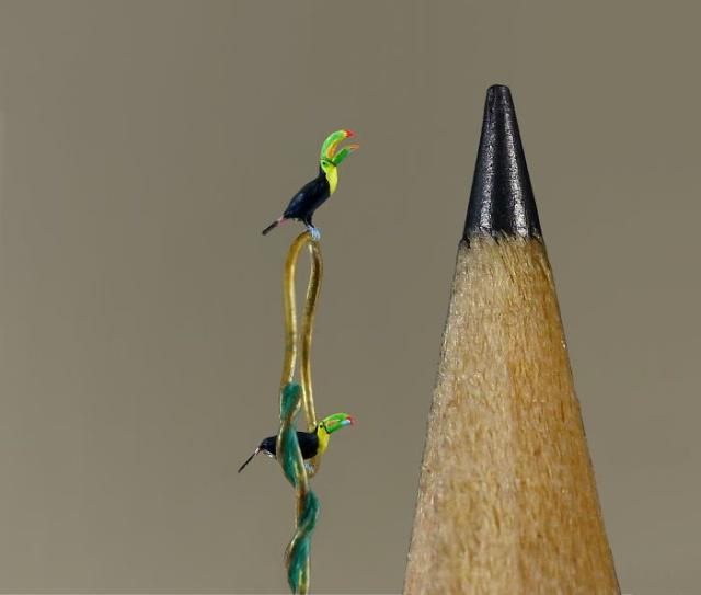 小さ過ぎる鳥の彫刻の画像(8枚目)